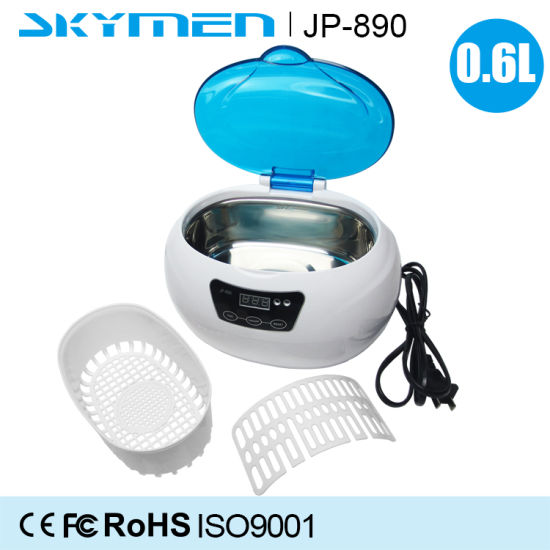 0.6L Digital Timer Adjustable Surgical Dental Instrument Degrease Ultrasonic Cleaner pictures & photos