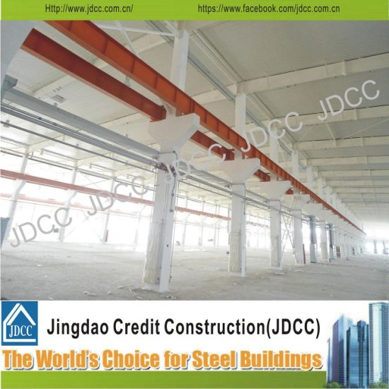 China Rust Paint Workshop Light Steel Structure Frame - China Steel ...