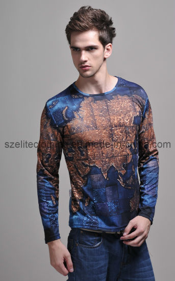 China Half Sleeve Mens Tattoo Tee Shirts Wholesale (ELTMTJ-250 ...