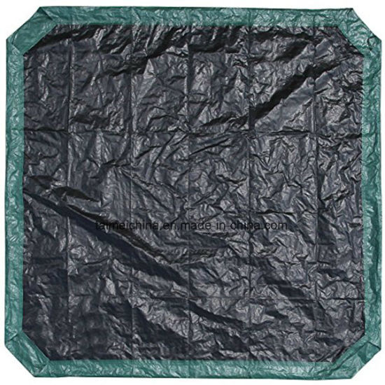 Green/Black Yard Tarp with Drawstrings pictures & photos