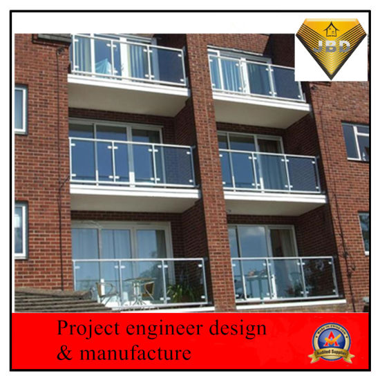 Customized Balcony Framless Glass Handrail Supply pictures & photos