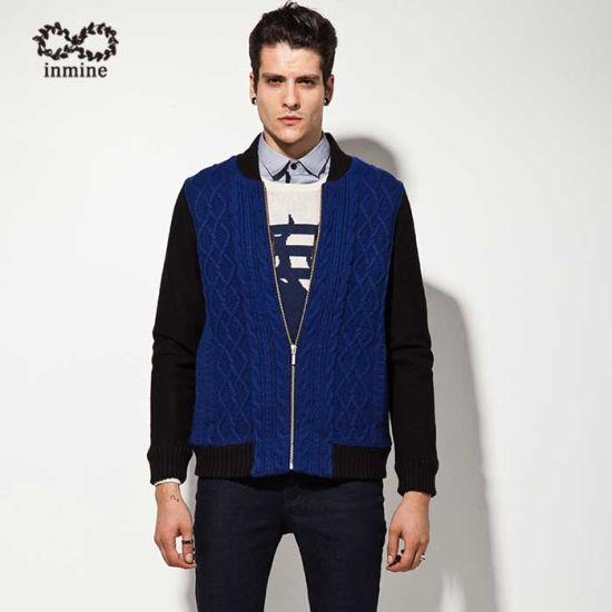 ODM Wool Blend Coat Sweater Man Garment