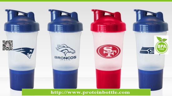 500ml Plastic PP Shaker Protein with Ball