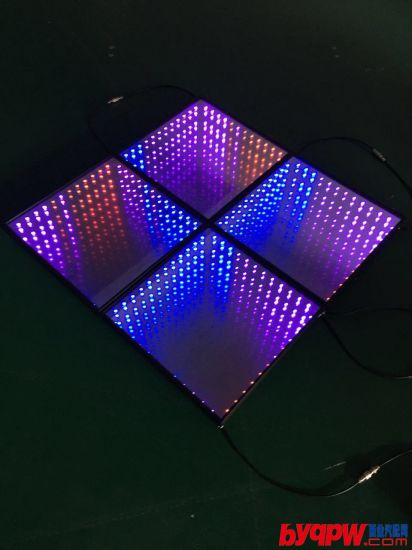 RGB Full Mix Color LED Twinkling Starlit Dance Floor for Wedding Decoration pictures & photos