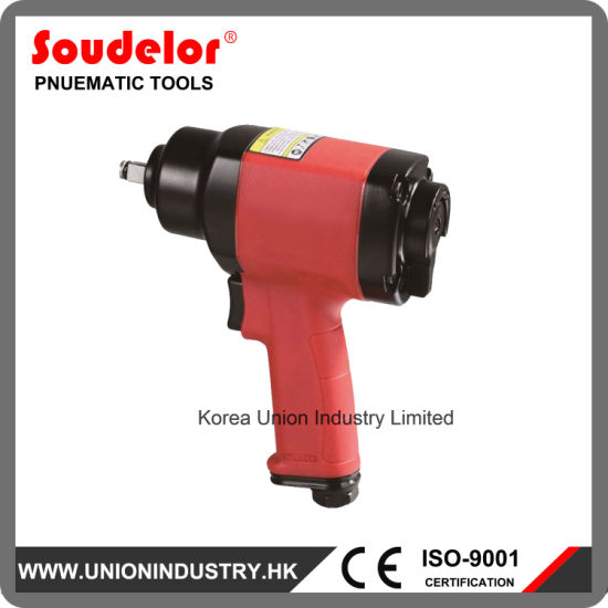 Pneumatic Torque Tool Portable Tire Changing Air Impact Wrench Ui 1301b