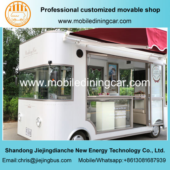 2018 New Design Commercial Exhibition Mobile Food Truck with Ce and SGS