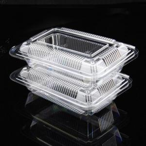 Custom Made Food Grade Plastic Fruit Clamshell Container Tray Tomato Packaging pictures & photos