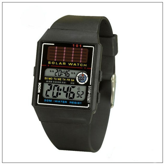 2020 New Arrival Solar Digital Watch pictures & photos