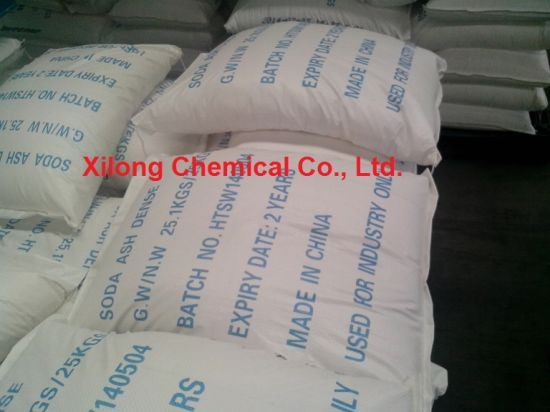 Manufacturer Supply Na2co3 Soda Ash Dense/Sodium Carbonate with Low Price pictures & photos
