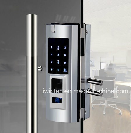Touch Keypad Fingerprint Lock for Glass Door pictures & photos