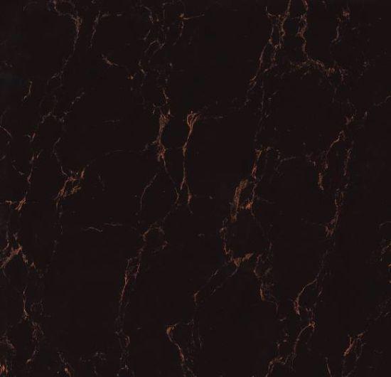 China Super Black Porcelain Polished Ceramic Floor Tiles Ajw6003