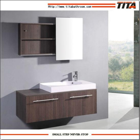 China Veneer Plywood Bathroom Cabinet/Bathroom Cabinet Foshan/European Style Bathroom Vanity