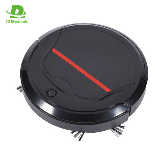 Newest Smart Robot Vacuum with USB Capacity for Pet Hair/Carpet