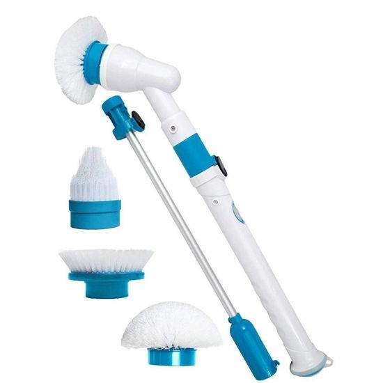High Speed Spin Scrubber Cordless Rechargeable Electric Power Scrubber
