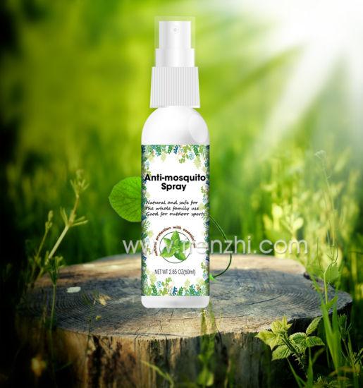 Deet Free Organic 60ml 100ml Natural Bug Spray Mosquito Repellant Spray Fz04