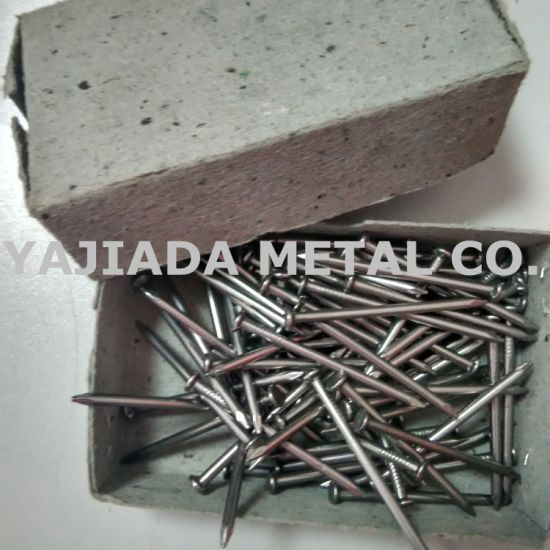 Galvanized Common Nails, Plished Wire Nails to Sohar Port, Oman