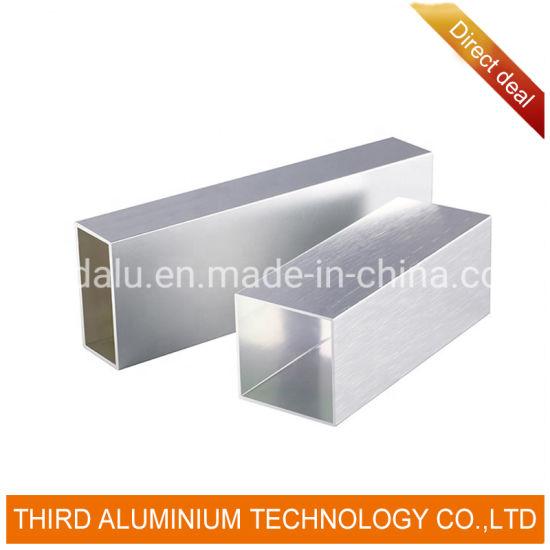 Factory Wholesale Square Tube Aluminium Aluminum Processing