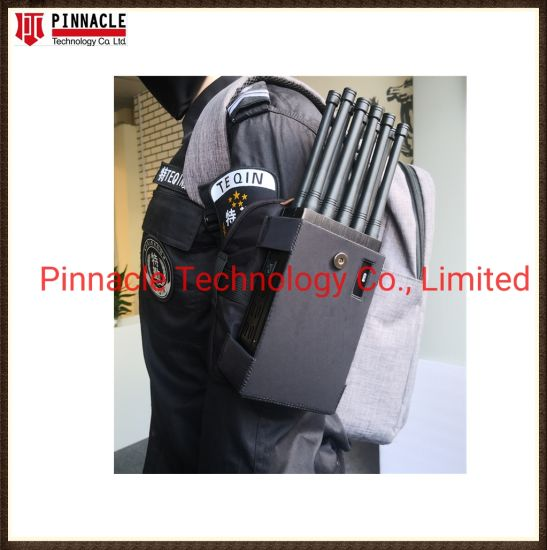Factory Price 8 Antennas Handheld 8W Power 3G/2g/4G/5g/GPS/WiFi 2.4G 5.8g Signal Jammer