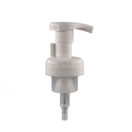 Wholesale White Skin Care Plastic Soap Dispenser Foam Pump with Clip Lock