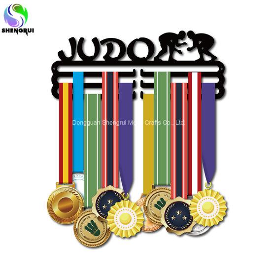 Sport Medal Holder Judo Medal Hanger