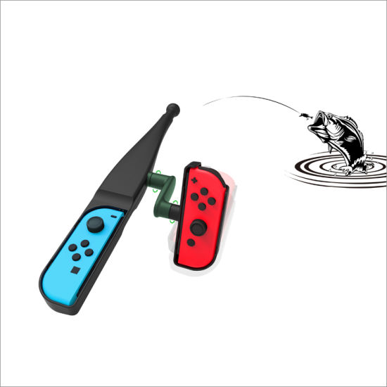 China Fishing Rod For Nintendo Switch Joy Con Accessories Fishing Game Kit For Nintendo Switch Bass Pro Shops The Strike Championship Edition And Legendary Fishing China Fishing Rod And Fishing Game