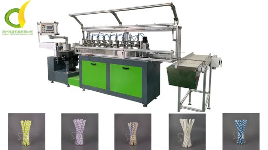 18 Months Warranty Paper Straw Machine Making Paper Straw