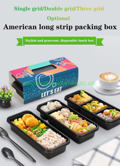 High Fashion Disposable Lunch Box Plastic Container Product