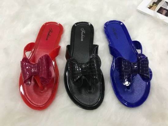 Buttyfly Upper PVC Jelly Shoes 2020 Summer