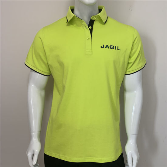 Custom High Quality Thick Cotton Staff Polo Shirt pictures & photos
