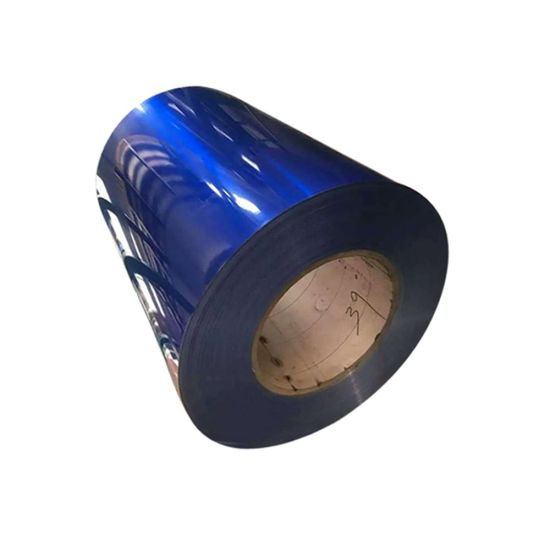 PVDF Painted Color Coated Al Coil High Light Aluminium Coil for Outdoor Roofing