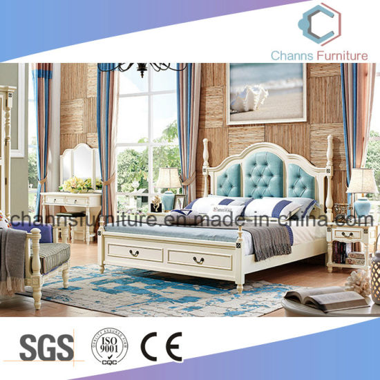 China Europe Classical Wooden Bedroom Furniture Bed (CAS ...