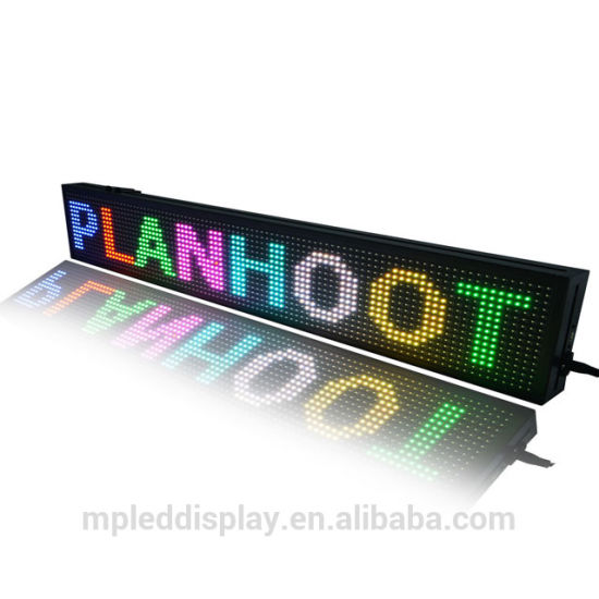 Outdoor Mini Bus/Taxi Top Sign LED Advertising Display Screen Programmable Public Signage