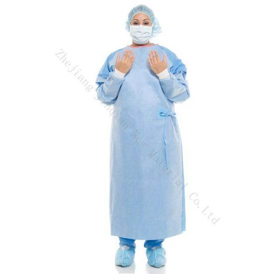 Home-Textile Breathable Disposable Nonwoven Fabric for Surgical Gown pictures & photos