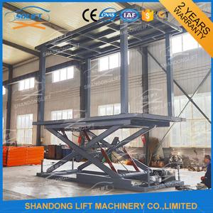 3t 3m High Strength Manganese Steel Hydraulic Scissor Car Lift