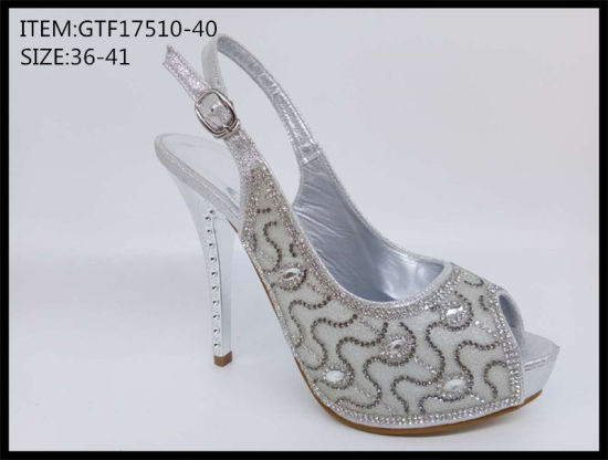 New Style Fashion Women Casual Sandals Shoes High Heels Shoes (GTF17510-40)