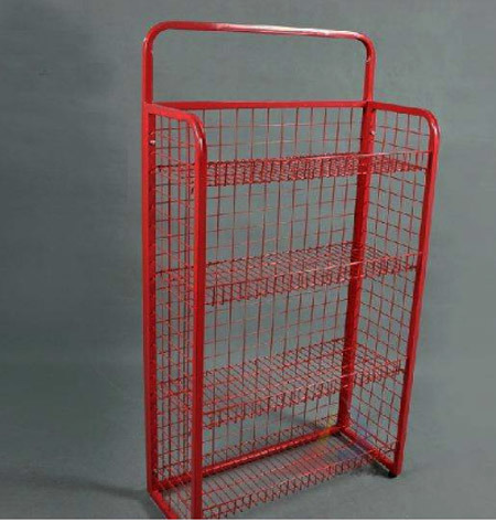 Metal Wire Rotating Computer Display Magazine Wholesale V-Rack Factory pictures & photos