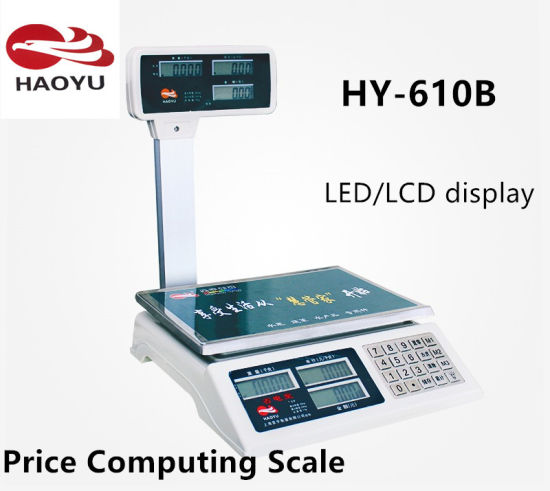 Digital Electronic Scale Price Computing Scale pictures & photos