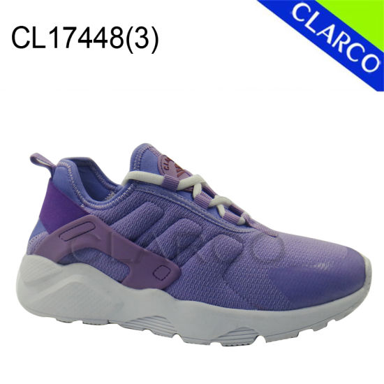 Women Casual Sneaker Sports Shoes with Cushion Sole pictures & photos