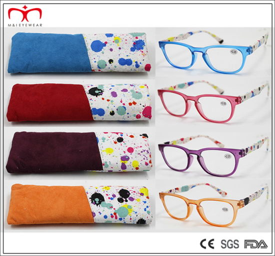 Reading Glasses with Pouch and Display (WRP610709) pictures & photos