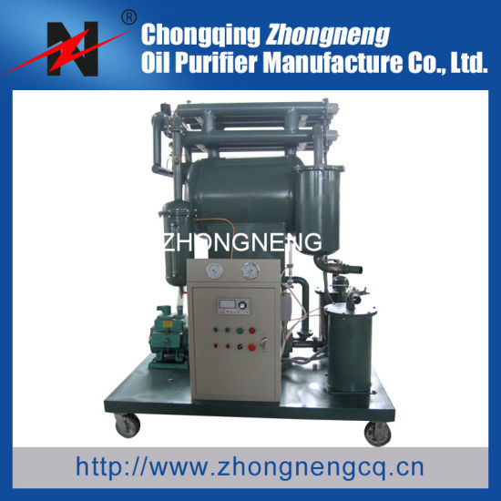 Zhongneng Zy Series Transformer Oil Purification Machine/Insulating Oil Purification System