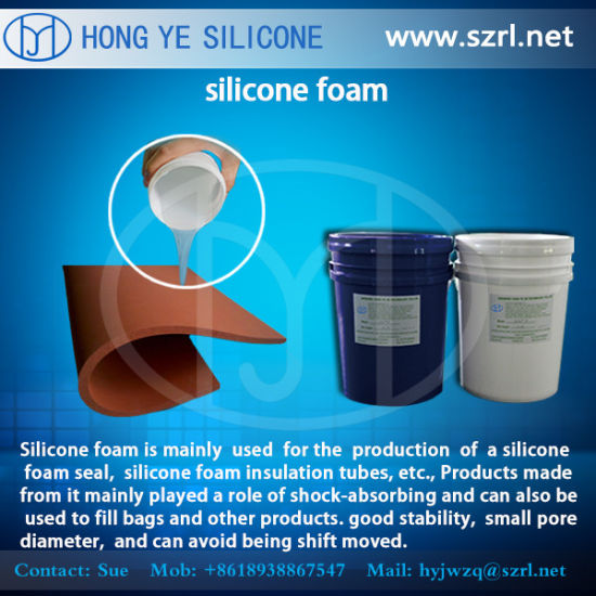 Silicone Foam Rubber For Seat Cushions Making