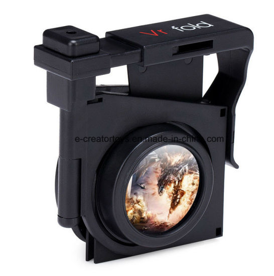 New Mini Portable Fold Virtual Reality 3D Glasses Cheapest Price in Promotional Gift pictures & photos