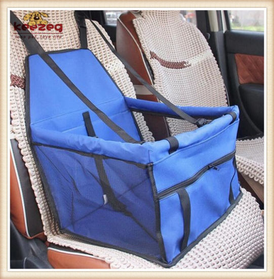 Waterproof / Foldable Pet Car Seat Cover Carrier /Luxury Car Booster Seat (KDS001) pictures & photos