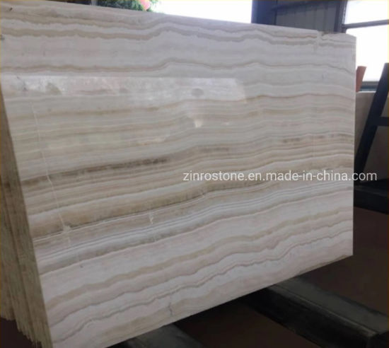 Polished Straight White Wooden Vein Jade Slabs/Tiles Marble for Countertop/Floor/Wall