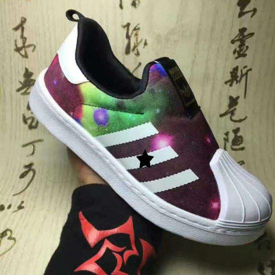 2017 Spring Sunmmer Children Super Star Canvas Sneakers Custom Kids Shoes 367973db7