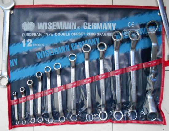 12 PC Double Open End Spanner Set, Cr-V (WTCG002) pictures & photos