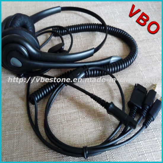 6463832c8d1 Best Selling Call Center 3.5mm Connector Computer Headset with Noise  Cancelling Mic Boom