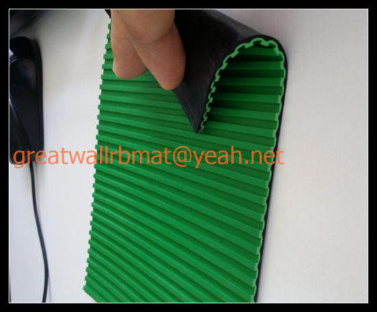 Ribbed Anti-Static Rubber Sheet Gw5004 pictures & photos
