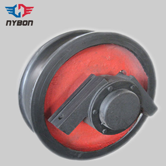 Overhead Crane Parts Casting Wheel Group with Bearing pictures & photos
