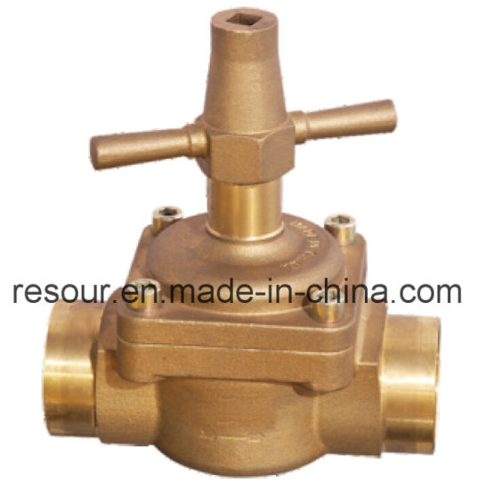Globe Valve, Refrigeration Brass Hand Valve pictures & photos